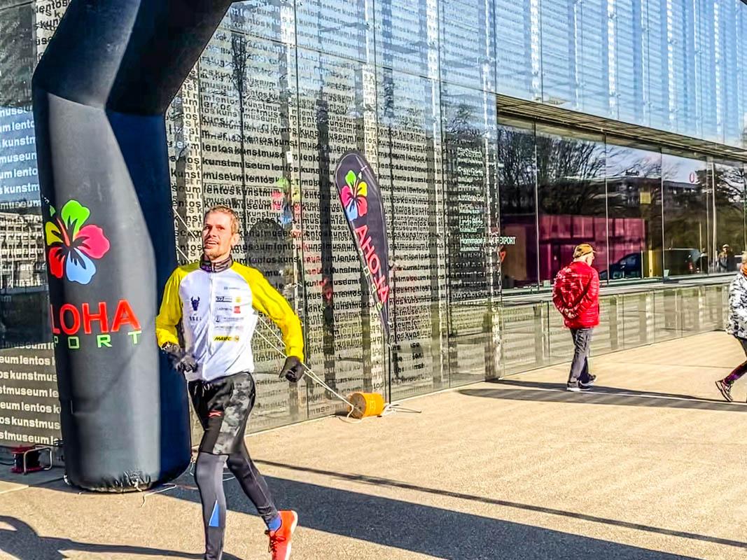ALOHA Winterlauf Linz Februar 2021